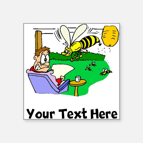 Angry Bees (Custom) Sticker