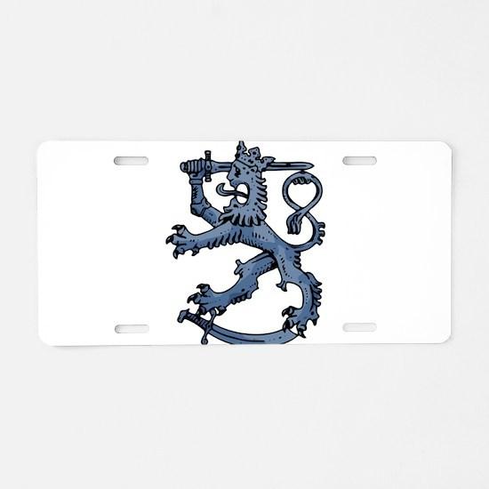 Griffin clip art Aluminum License Plate