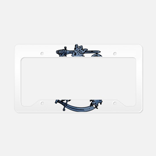 Griffin clip art License Plate Holder