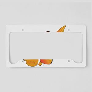 Clownfish graphic art License Plate Holder