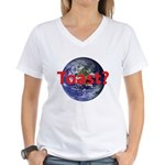 Toast? Women's V-Neck T-Shirt