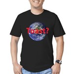 Toast? Men's Fitted T-Shirt (dark)