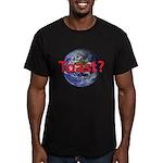 Toast? Men's Fitted T-Shirt (dark)