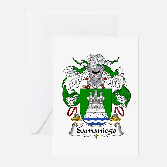 Samaniego Greeting Card
