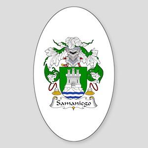 Samaniego Oval Sticker