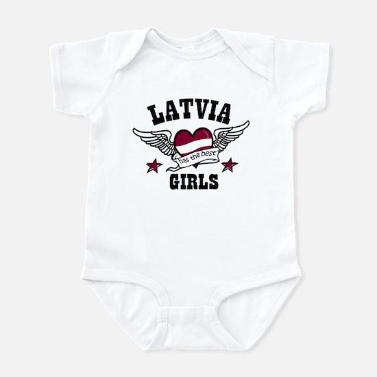 Latvia has the best girls Infant Bodysuit