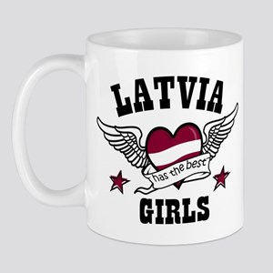 Latvia has the best girls Mug
