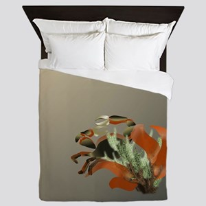 Stone and Fire Callinectes Queen Duvet