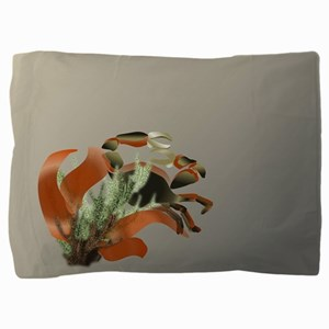Stone and Fire Callinectes Pillow Sham