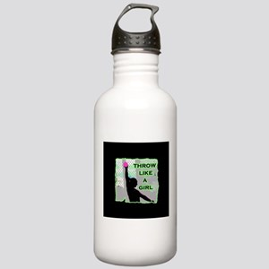 Throw like a girl shot Stainless Water Bottle 1.0L