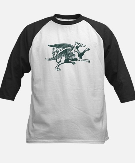 Eagle griffin silhouette Baseball Jersey