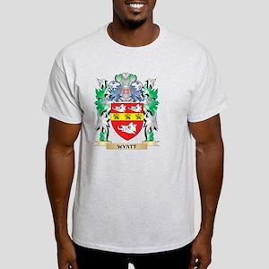Wyatt Coat of Arms - Family Crest T-Shirt