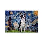Starry Night Boston (#2) Rectangle Magnet (10 pack