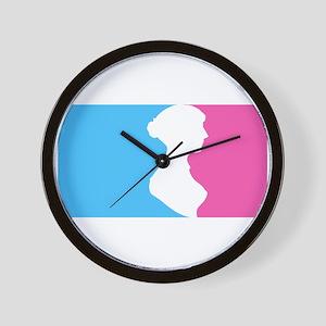 Major League Jane Austen Lt Wall Clock