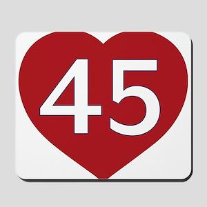 President Trump - Love 45 Mousepad