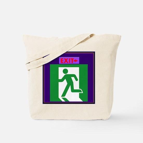 EXIT Tote Bag