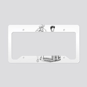 Renaissance of traditional ch License Plate Holder