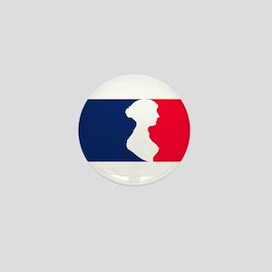 Major League Jane Austen Mini Button