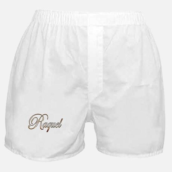 Gold Raquel Boxer Shorts