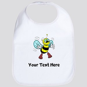 Friendly Bee (Custom) Bib