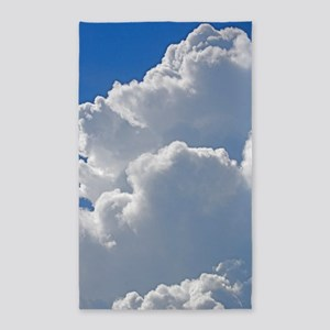 Puffy clouds Area Rug