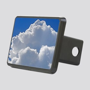 Puffy clouds Rectangular Hitch Cover