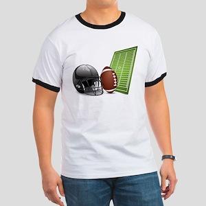 American football ball and helmet T-Shirt