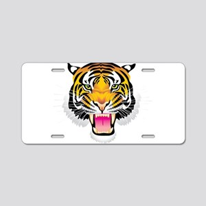 Ferocious tiger head Aluminum License Plate
