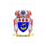 Tewelson Sticker (Rectangle 50 pk)