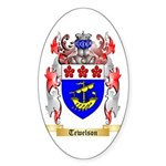 Tewelson Sticker (Oval 50 pk)
