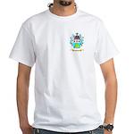 Tevlin White T-Shirt