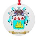 Tevlin Round Ornament