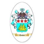 Tevlin Sticker (Oval 50 pk)