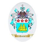 Tevlin Oval Ornament