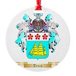 Tevis Round Ornament