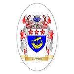 Tevelov Sticker (Oval 50 pk)