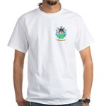 Tevelin White T-Shirt
