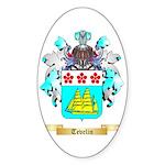 Tevelin Sticker (Oval 50 pk)