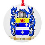 Terry (Ireland) Round Ornament