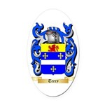 Terry (Ireland) Oval Car Magnet