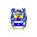 Terry (Ireland) Sticker (Rectangle 10 pk)