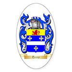 Terry (Ireland) Sticker (Oval 50 pk)