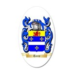 Terry (Ireland) 20x12 Oval Wall Decal