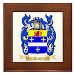 Terry (Ireland) Framed Tile