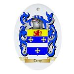 Terry (Ireland) Oval Ornament
