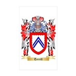 Terrill Sticker (Rectangle 50 pk)