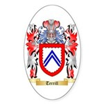 Terrill Sticker (Oval 50 pk)