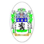 Terrazas Sticker (Oval 50 pk)