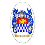 Terell Sticker (Oval 10 pk)