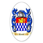 Terell Sticker (Oval 50 pk)